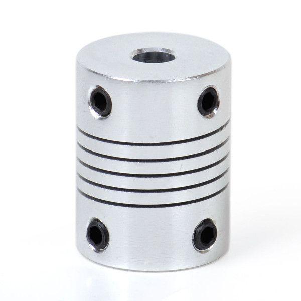 Гибкая алюминиевая муфта 5х5