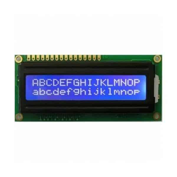 1602A LCD - cимвольный дисплей (синяя подсветка)