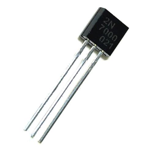 2N7000, Транзистор, N-канал, 60В, 0.4А, 5000мОм TO92