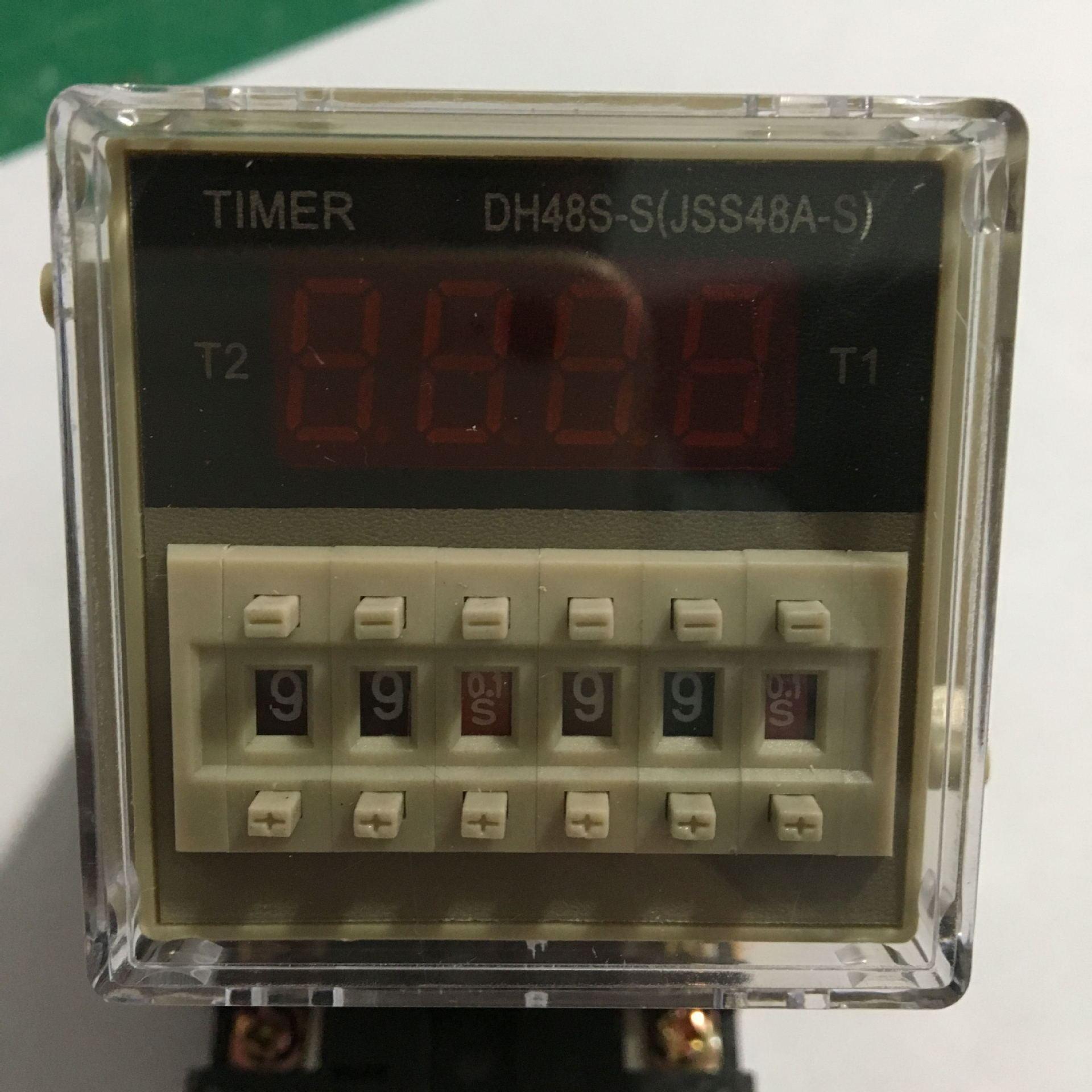DH48S-S Электронное реле задержки времени циклическое 380В 5A (Копировать)