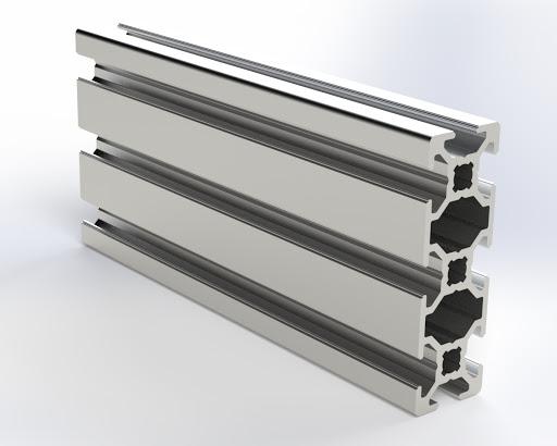 20х60 Алюминиевый Станочный (конструкционный) профиль 2060 Не анод